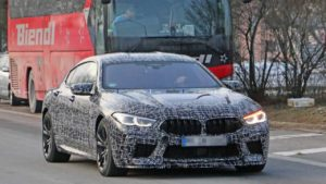 Фотошпионы засняли BMW M8 Gran Coupe на тестах