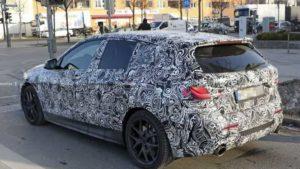 Появились снимки салона BMW 1 Series 2019