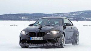 Появились фото BMW M2 CS 2020