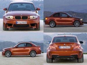 Экстерьер купе BMW 1M