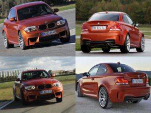 Внешний вид BMW 1M