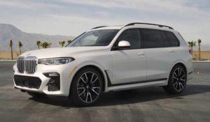 Опубликовано видео BMW X7