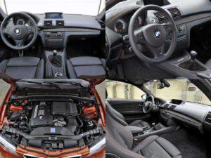 Салон BMW 1M